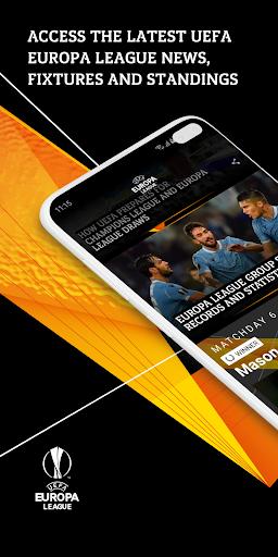 UEFA Europa League football: live scores & news screenshot 1