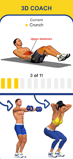 Abs Workout - Daily Fitness screenshot 4