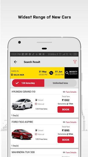 MyChoize Self Drive Cars and Car Rentals screenshot 3