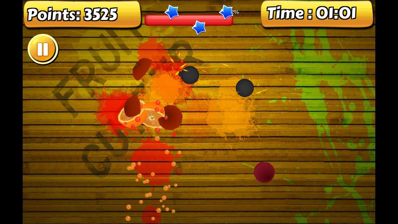 Fruit Kung Fu Cutter screenshot 1