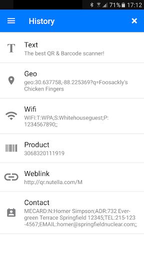 QR & Barcode Scanner screenshot 6