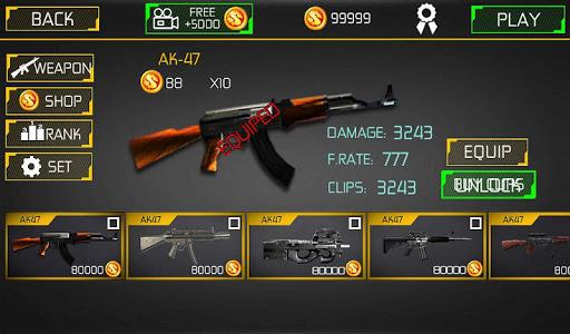 Counter Terrorist Fire Shoot 2 تصوير الشاشة