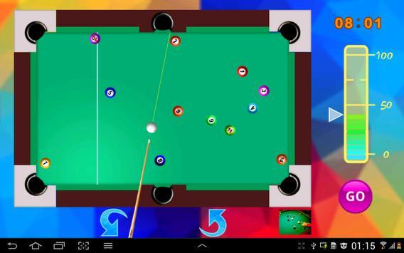Snooker game screenshot 3