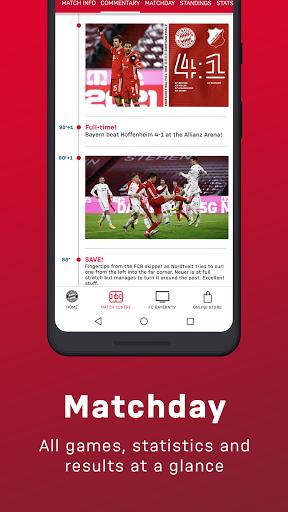 FC Bayern München - football news & live scores 4 تصوير الشاشة