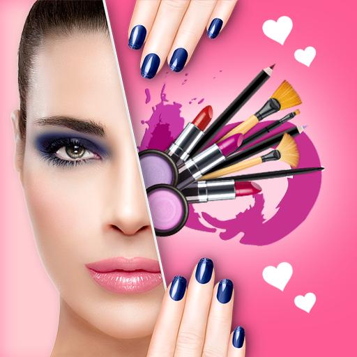 You face Makeup photo editor icon