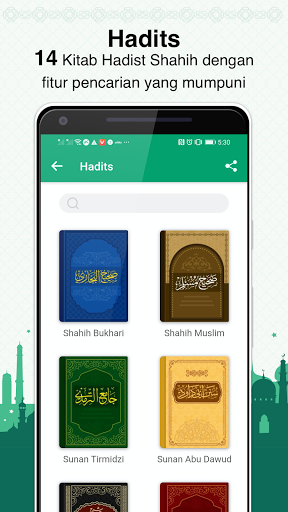 Al Hiwar- Waktu Salat Muslim,Adzan,Qur'an&Kiblat screenshot 4