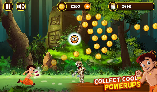 Chhota Bheem Jungle Run screenshot 3
