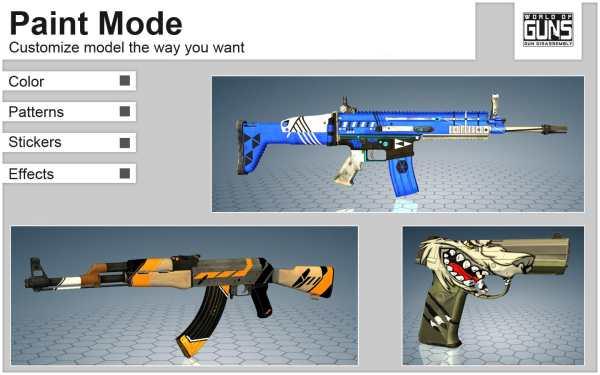 World of Guns: Gun Disassembly скриншот 5
