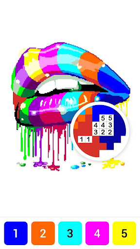 Draw.ly - Color by Number Pixel Art Magic Coloring screenshot 7