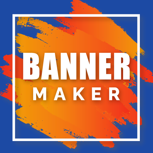 Banner Maker Photo and Text icon