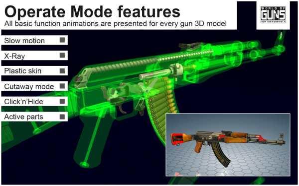 World of Guns: Gun Disassembly скриншот 2