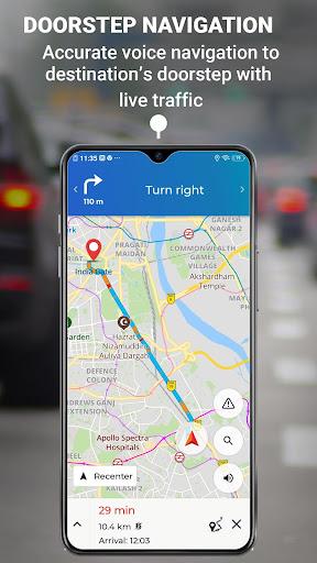 MapmyIndia Move: Maps, Navigation & Tracking скриншот 5