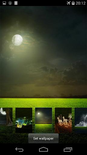 Fireflies lockscreen 16 تصوير الشاشة