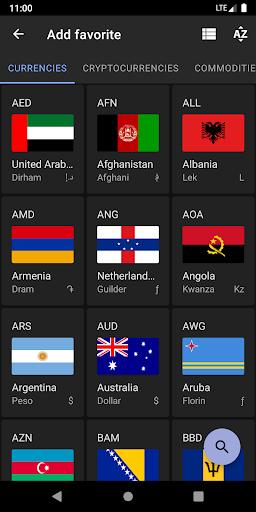 Exchange Rates & Currency Converter 5 تصوير الشاشة
