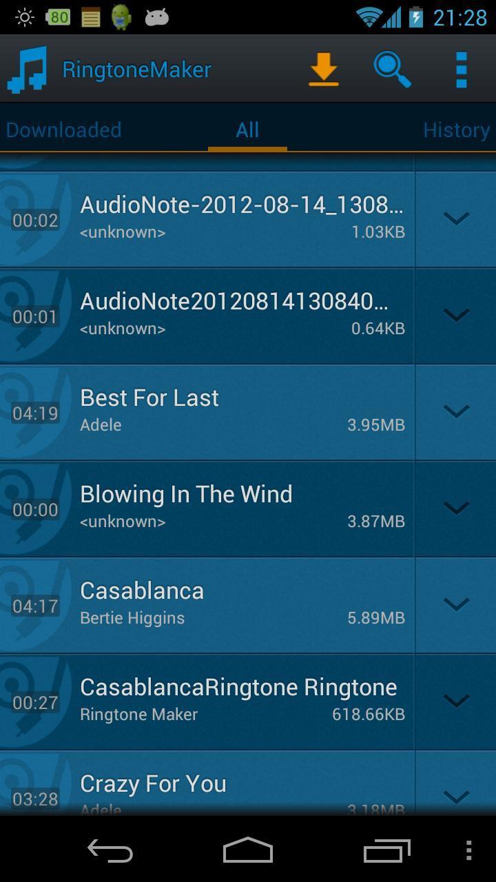 Ringtone Maker Pro screenshot 1