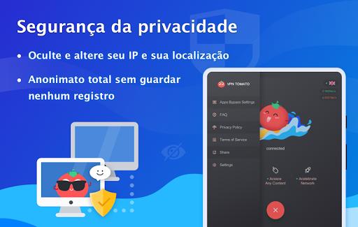 Free VPN Tomato|Proxy VPN de hotspot grátis rápido screenshot 10