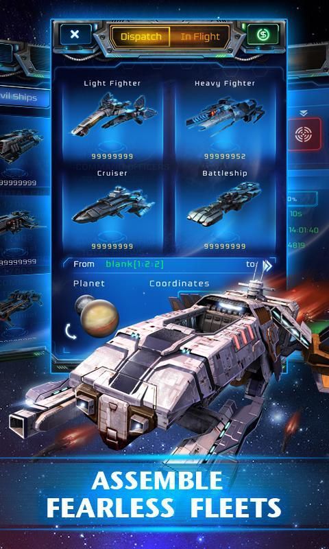 Galaxy Empire 3 تصوير الشاشة