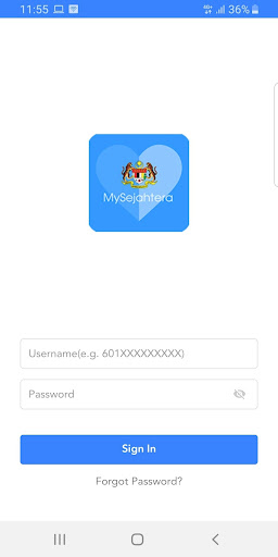 MySejahtera screenshot 2