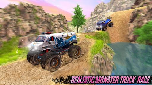 Impossible Monster Truck: race & Stunts 3D screenshot 5