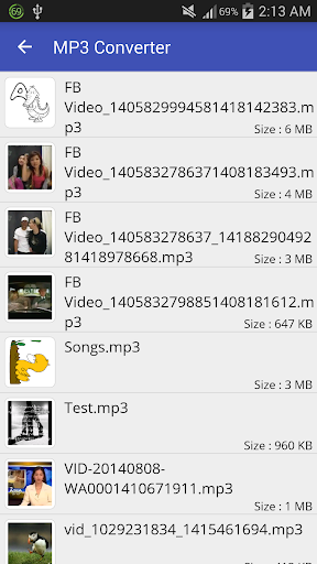 Video to MP3 Converter - MP3 Tagger 4 تصوير الشاشة