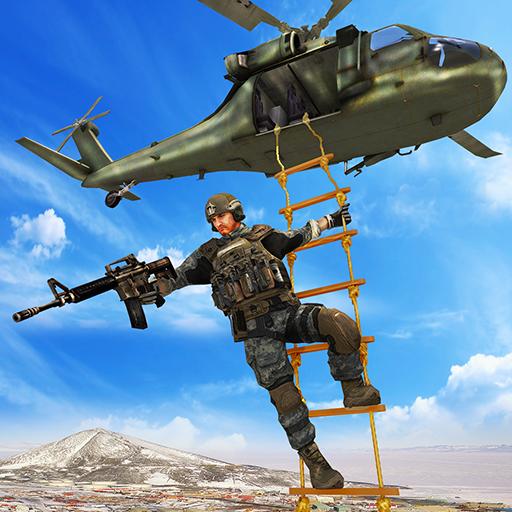 سلاح الجو مطلق النار 3D -ألعاب طائرات الهليكوبتر أيقونة