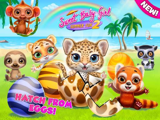 Sweet Baby Girl Summer Fun 2 - Sunny Makeover Game 9 تصوير الشاشة
