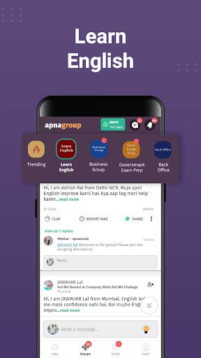 apna: Job Search India, Vacancy Alert, Online Work 7 تصوير الشاشة