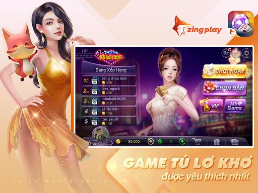 Tú Lơ Khơ ZingPlay 6 تصوير الشاشة