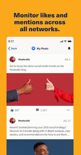 Hootsuite: Schedule Posts for Twitter & Instagram 5 تصوير الشاشة