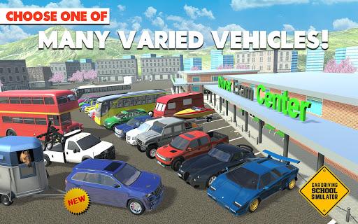 🚓🚦Car Driving School Simulator 🚕🚸 screenshot 9