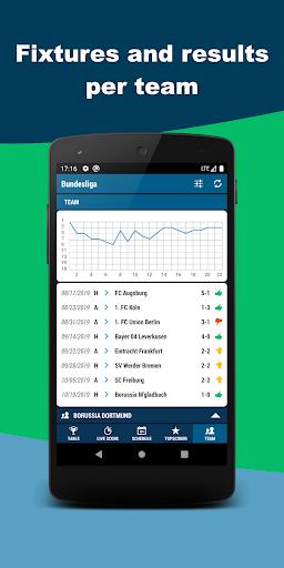Football DE - Bundesliga screenshot 4