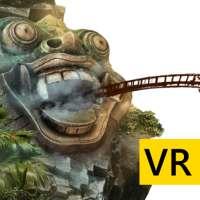 VR Temple Roller Coaster for Cardboard VR