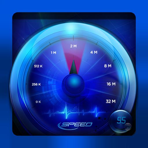 Internet Speed Test أيقونة
