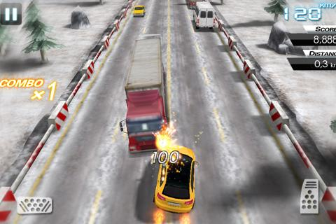 Mini Crazy Traffic Highway Race screenshot 5