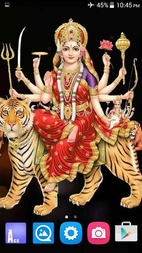4D Maa Durga Live Wallpaper 7 تصوير الشاشة