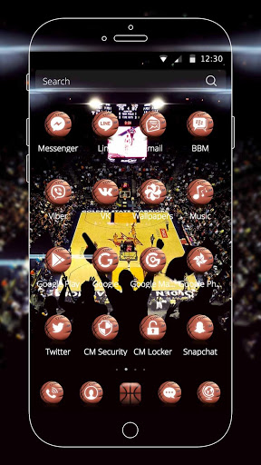 Basketball Theme screenshot 4