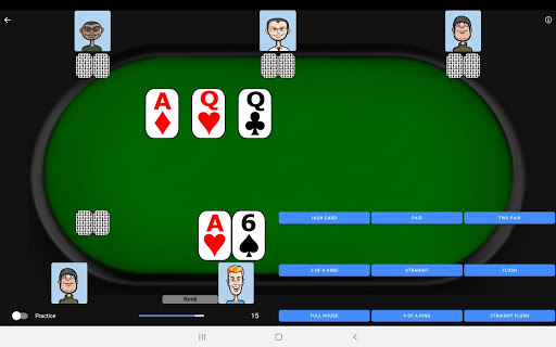 Poker Trainer - Poker Training Exercises 8 تصوير الشاشة
