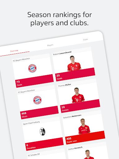 BUNDESLIGA - Official App 16 تصوير الشاشة