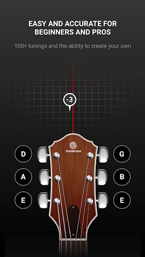 GuitarTuna - Tuner for Guitar Ukulele Bass & more! 2 تصوير الشاشة