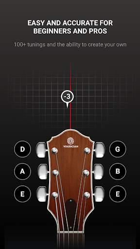 GuitarTuna - Tuner for Guitar Ukulele Bass & more! screenshot 3