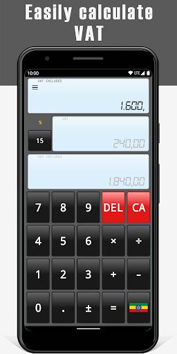 VAT Calculator 1 تصوير الشاشة