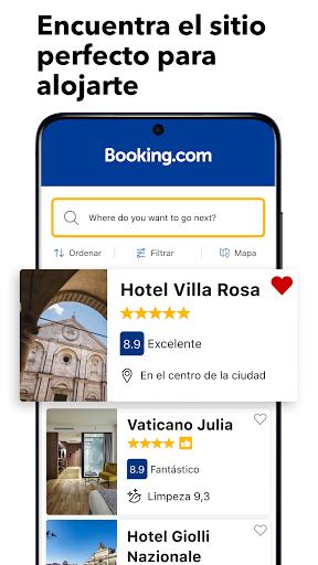 Booking.com Reservas Hoteles screenshot 1