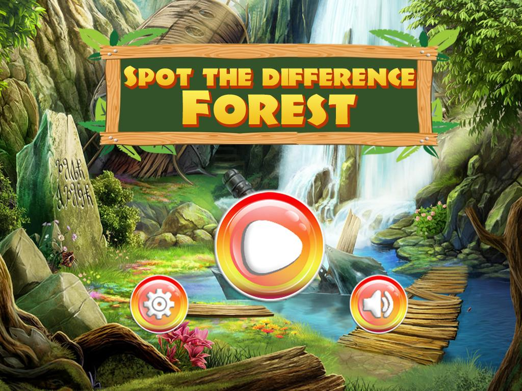 Spot the difference Forest- Find It скриншот 1