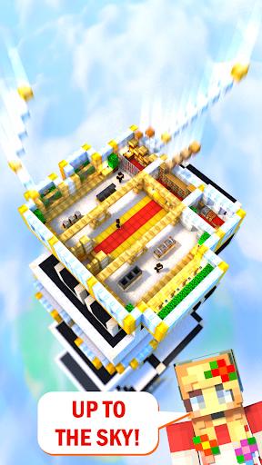 Tower Craft 3D - لعبة بناء من نوع ألعاب الخمول 3 تصوير الشاشة