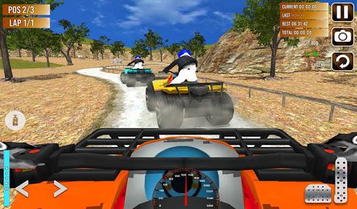 Offroad ATV quad bike racing sim: Bike racing game screenshot 8
