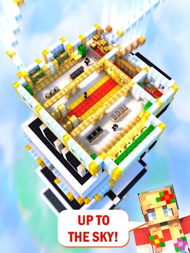 Tower Craft 3D - لعبة بناء من نوع ألعاب الخمول 7 تصوير الشاشة