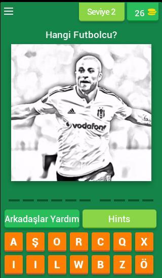 Karakartal Futbolcu Tahmin Oyunu screenshot 2