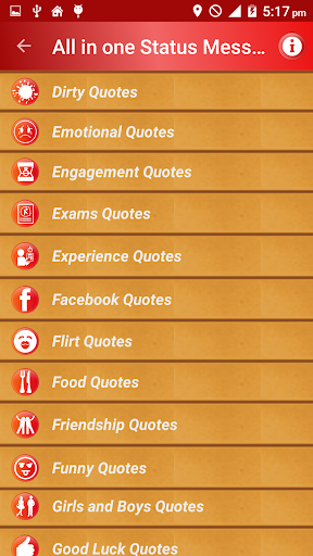 All Status Messages & Quotes screenshot 3