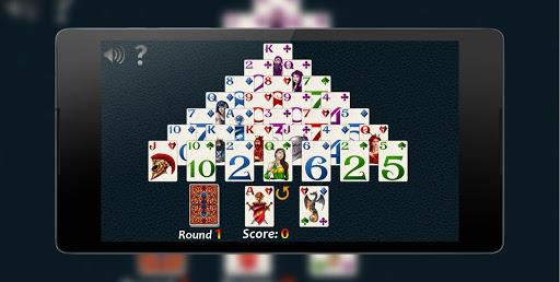 Pyramid Solitaire Fantasy 8 تصوير الشاشة