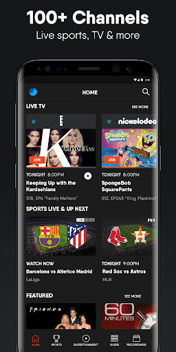 fuboTV: Watch Live Sports, TV Shows, Movies & News 1 تصوير الشاشة